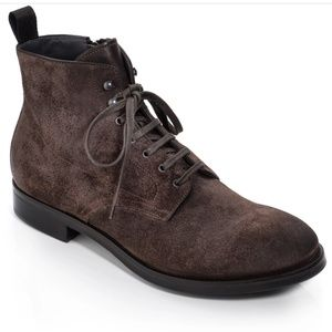 NWT To Boot NY 'ATHENS' size 12, Dark Brown Suede